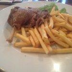 Confit heuuu de canard et bonnes frites congelées pas cuites