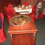Seven pound lobster served to guest at next table