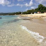 April 2014 Dorsch Beach - West side of St Croix. Notice the clear water