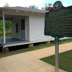 The house where Elvis was born in Tupelo, MS