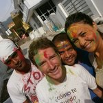Holy fest, la fiesta de los colores, con Raj