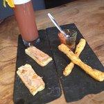 Apero Gourmand: Duo de Tapenade et Foie Gras