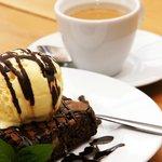 Brownie con café express