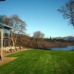 View over Loch Faskaley