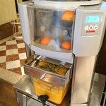 オレンジザフト製造機