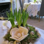 Easter table display