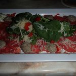 Beef Carpaccio, Appetizer at Dinner
