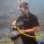 Oefening onderwater
