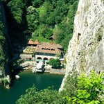 Aerial view on Canyon Matka Resort