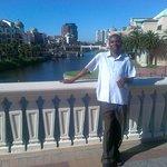 John Baligira at Canal Walk - CPT