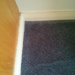 awful carpet and fittings