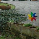 giardino con ingresso indipendente