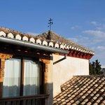 vue sur l'Alhambra et la Sierra Nevada