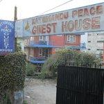 Kathmandu Peace Guest House entrance