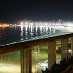Another great night view of Copacabana from the roof
