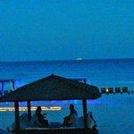 Vista do Restaurante Pelicanos do hotel