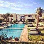 Hotel & pool!