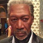 Morgan Freeman! o de cera :D