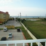 View from balcony looking at Seawall