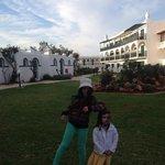 In the resort