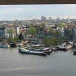 Амстердам-вид из библиотеки