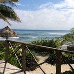 Ocean view from Angelfish Cabana