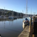 Town Basin at high tide - love it here!