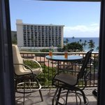 Our lanai and view