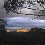 Sunet from Govetts Leap