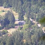 An aerial view of our acreage