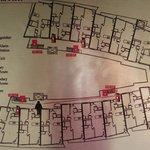 Floor plan of 5th floor