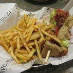 Club Sandwich at Avenue Cafe