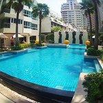 piscina do hotel - muito boa
