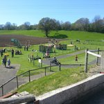 Outdoor play area - spotless and immaculately maintained
