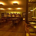 Interior do restaurante.