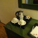 café en la habitación