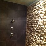 Exquisite shower. Picture doesn't begin to do it justice!
