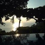 Sunset from Restaurant Pool