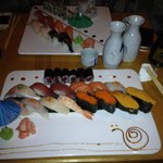 Both Sushi Deluxe and the Wasabi Special never disappoint, with Tobiko and Uni