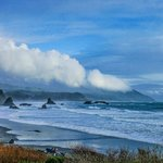 View from Battle Rock Park, Port Orford, Oregon