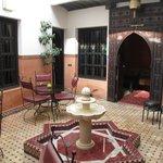Beautiful, small courtyard
