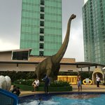 Dinosaurs theme pool