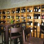 tasting room at the Lavaux Vinorama