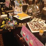 It is Easter heaven dessert buffet!