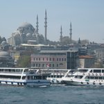 Lovely afternoon on the Bosphorus