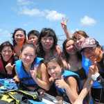 We have enjoyed the snorkeling so much. Tks 2 our beautiful instructor,  Petty Tien.