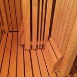 Comfy and clean sauna