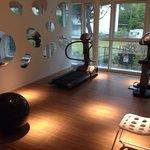 Marina Verde Caorle. Fitnessraum green room.