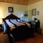Hubby's bed