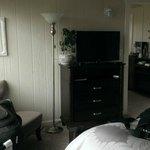 Bedroom was spacious